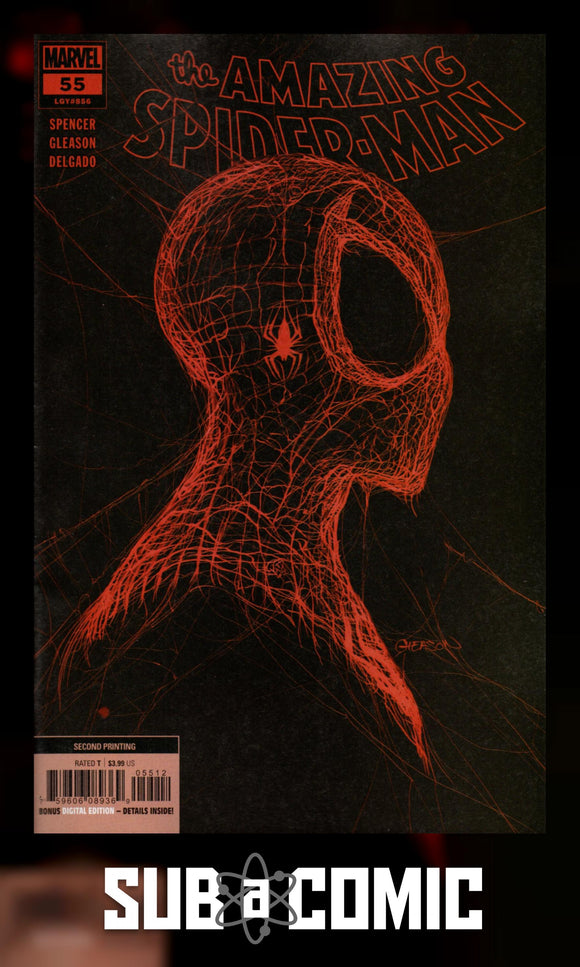 AMAZING SPIDER-MAN #55 GLEASON VARIANT (MARVEL 2021 2nd Print)