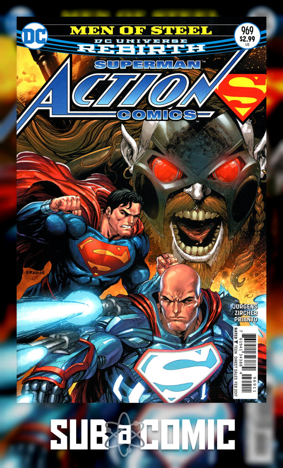 ACTION COMICS #969 (DC 2016 1st Print)