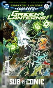 GREEN LANTERNS #12 (DC 2016 1st Print) COMIC