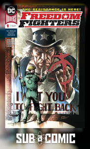 FREEDOM FIGHTERS #1 (DC 2018 1st Print)