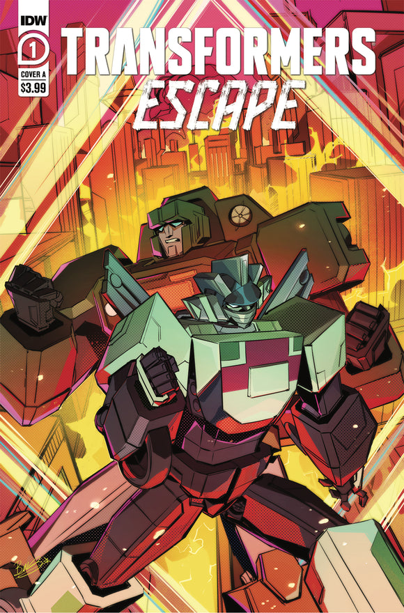 TRANSFORMERS ESCAPE #1 COVER A (IDW 2020 1st Print)
