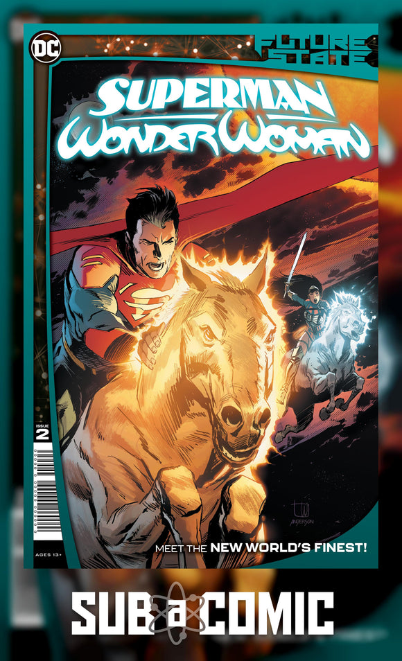 FUTURE STATE SUPERMAN WONDER WOMAN #2 (DC COMICS 2021 1st Print)