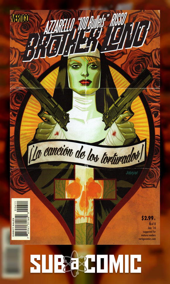 100 BULLETS BROTHER LONO #6 (DC 2013 1st Print)