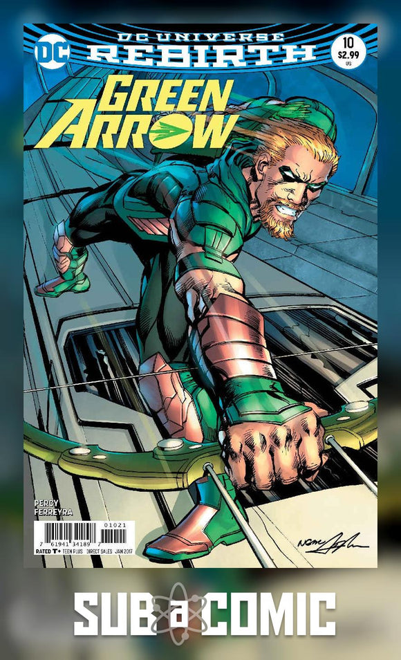 GREEN ARROW #10 VARIANT (DC 2016 1ST PRINT)