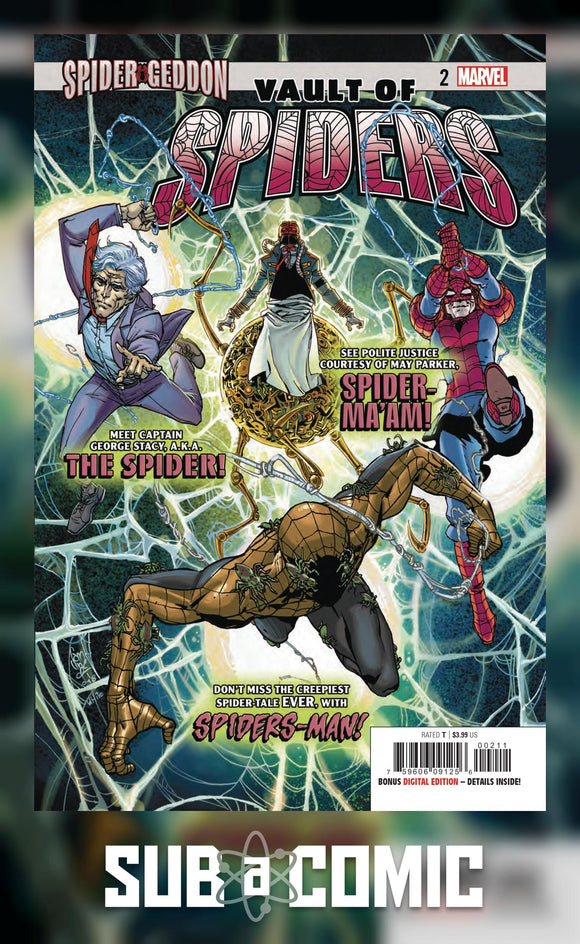 VAULT OF SPIDERS #2 SG (MARVEL 2018 1st Print)