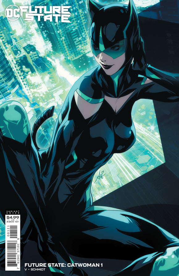 FUTURE STATE CATWOMAN #1 CARD STOCK VARIANT (DC 2021 1st Print)