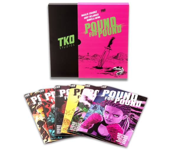 POUND FOR POUND COMIC PACK #1 - 6 (TKO STUDIOS)