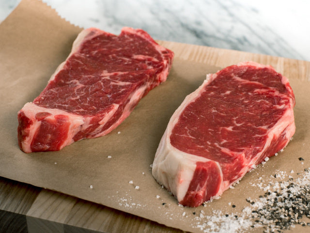 Boneless New York Strip - 12oz ea. - 2 Pack - Groveland General