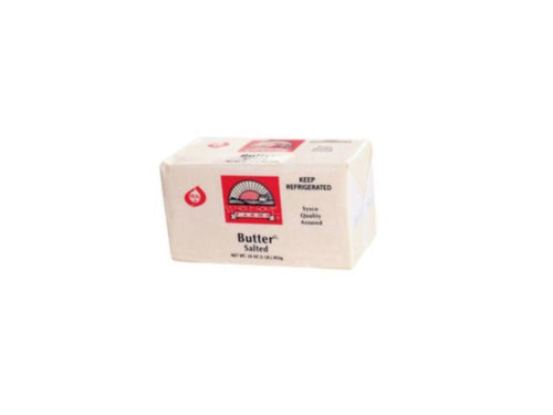 1 lb. Pack Butter Solid - Salted - Groveland General