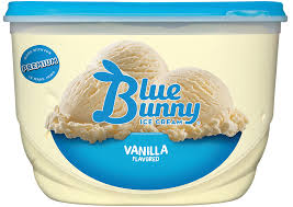 Blue Bunny Ice Cream - Vanilla - 1 PT - Groveland General