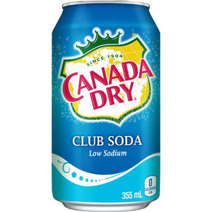 Canada Dry Club Soda - 24 Case - Groveland General