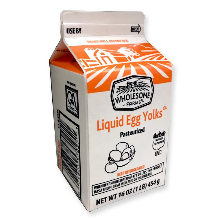 Liquid Egg Yolk - Unsugared - 1 lb. - Groveland General