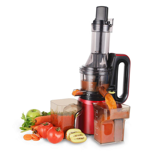 Cusimax 240W Slow juicer, 50RPMs Quiet Fruit Vegetable Masticating Juicer, BPA-free, CMSJ-800R