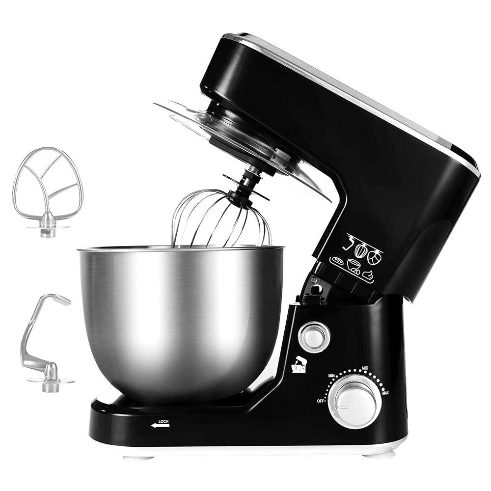Cusimax 800W Electric Stand Mixer 5-Quart Dough Mixer Tilt-Head