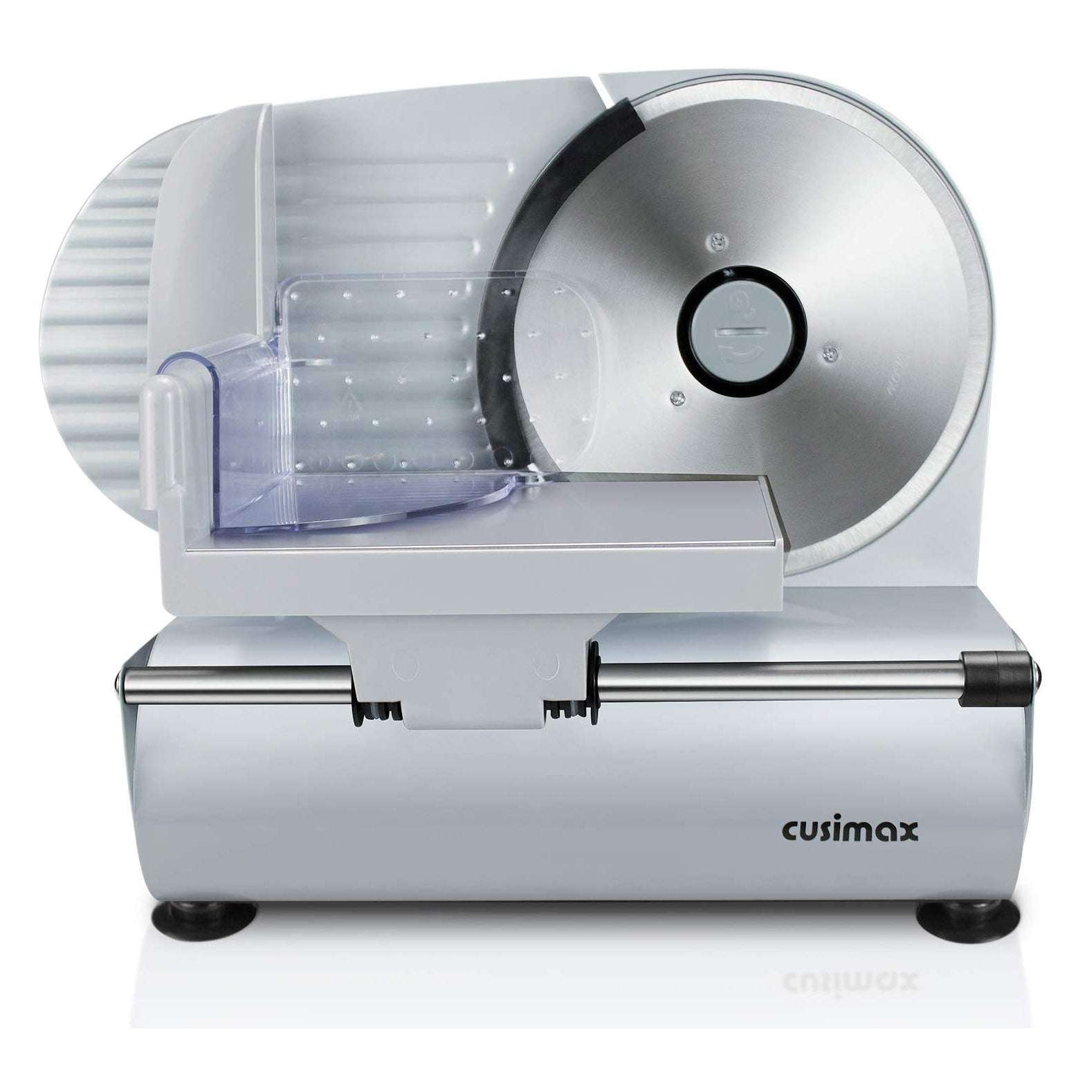 Cusimax 200W Electric Food Slicer with 7.5 Inch Blade Precision