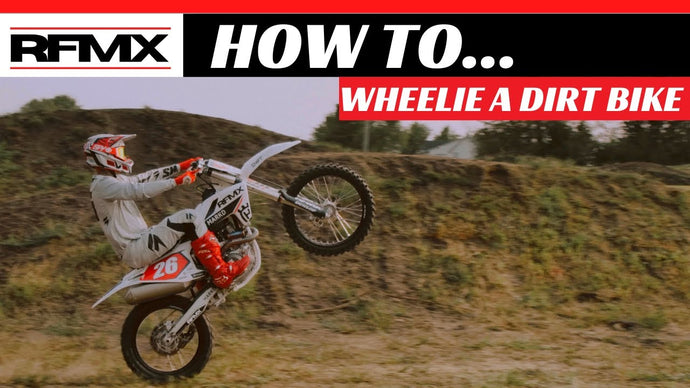 HOW TO DO A WHEELIE ON A DIRTBIKE!