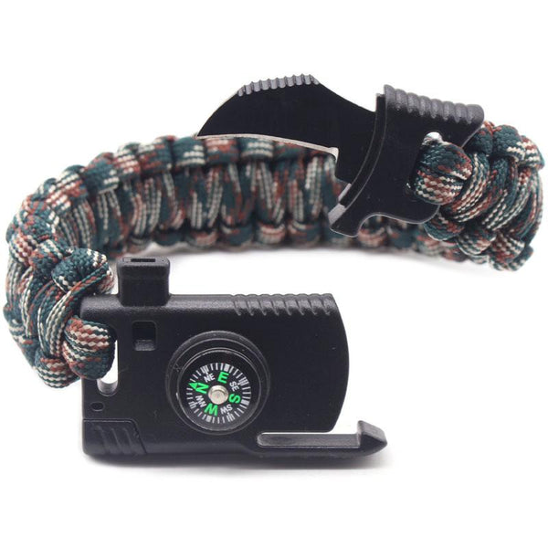 Braided Multi-function Survival Bracelet