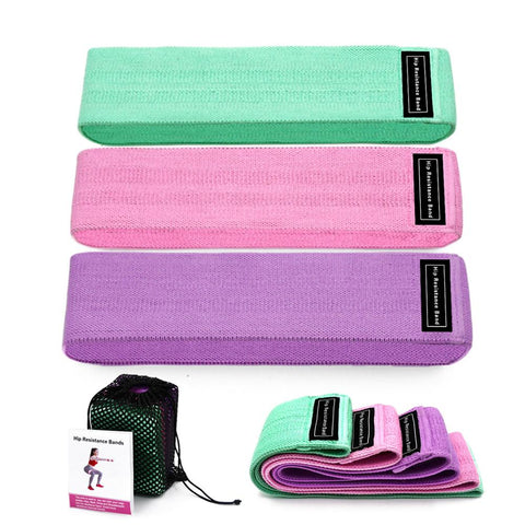 Fitness Resistance Bands 3-Piece Set