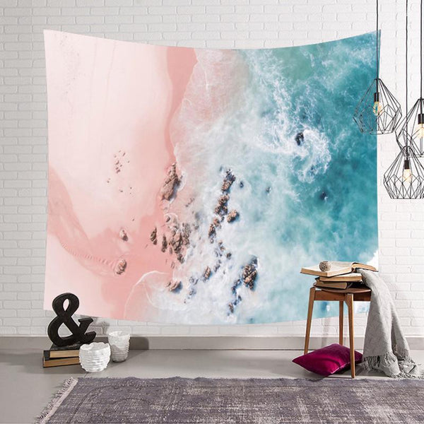 3D Wall Tapestry (Beach)