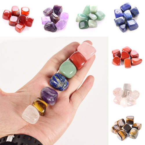 Seven Healing Crystals Set (Stone Polished)