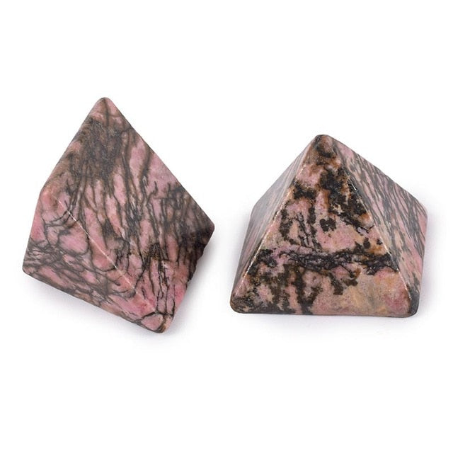 Healing Pyramid (Rhodonite)
