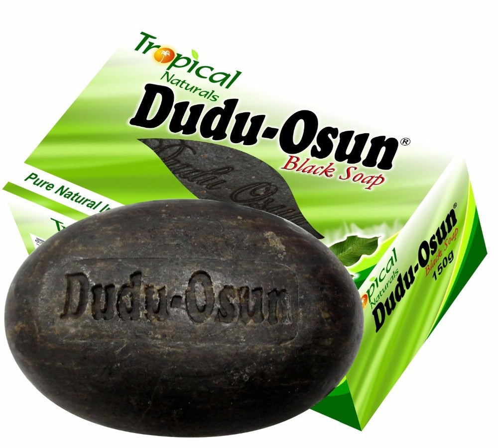 Tropical Dudu Osun African Natural Black Soap with Natural Ingredients