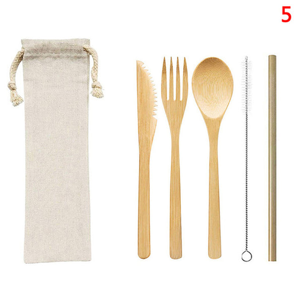 Travel Bamboo Tool Sets