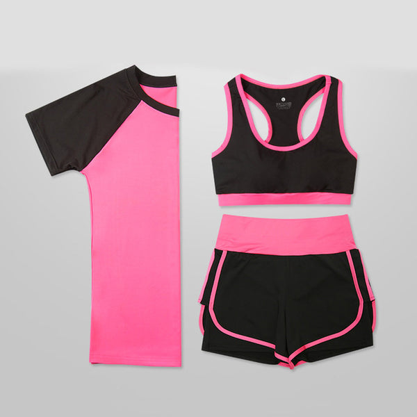 5 Pieces Women Fitness Set