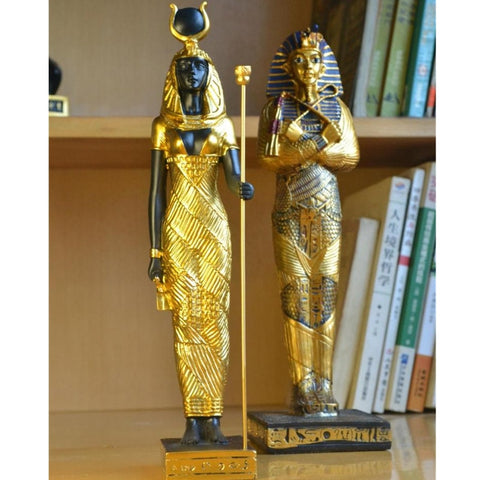 Egyptian Goddess Tutankhamun Resin Statue