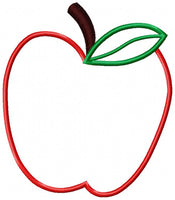 Apple - Applique - 4x4 5x5 6x6 7x7