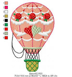 Balloon - Machine Embroidery Design