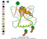 Saint Patrick's Day Gnomes  - Applique - Pack with 5 designs