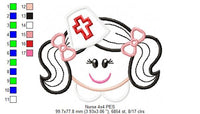 Nurse - Applique - 4x4 5x7 6x10 7x12