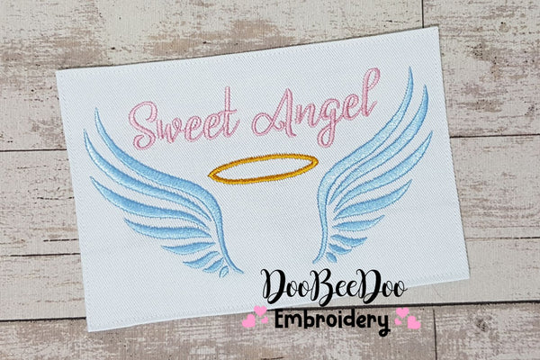 Sweet Angel - Fill Stitch - 4x4 5x7 6x10