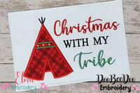 Santa's Hat - Applique - 5 sizes