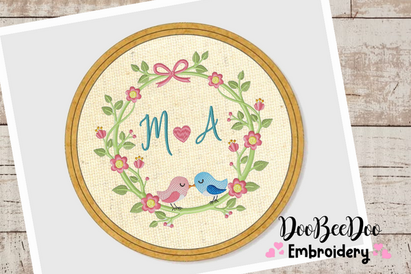 Wood Hoop - 5 Sizes - Machine Embroidery Designs