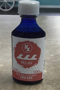 KANNABRIX 500 MG 4 OZ RELAX CHERRY CBD MIX TINCTURE - T2PRI
