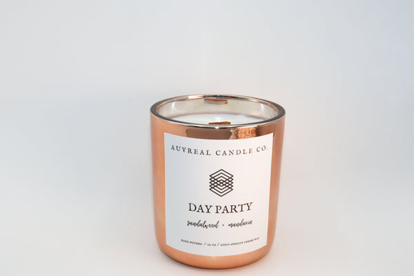 Sparkling citrus dusted with warm coconut vanilla and sandalwood is delectable. Go ahead and escape the Winter and enjoy your Day Party!