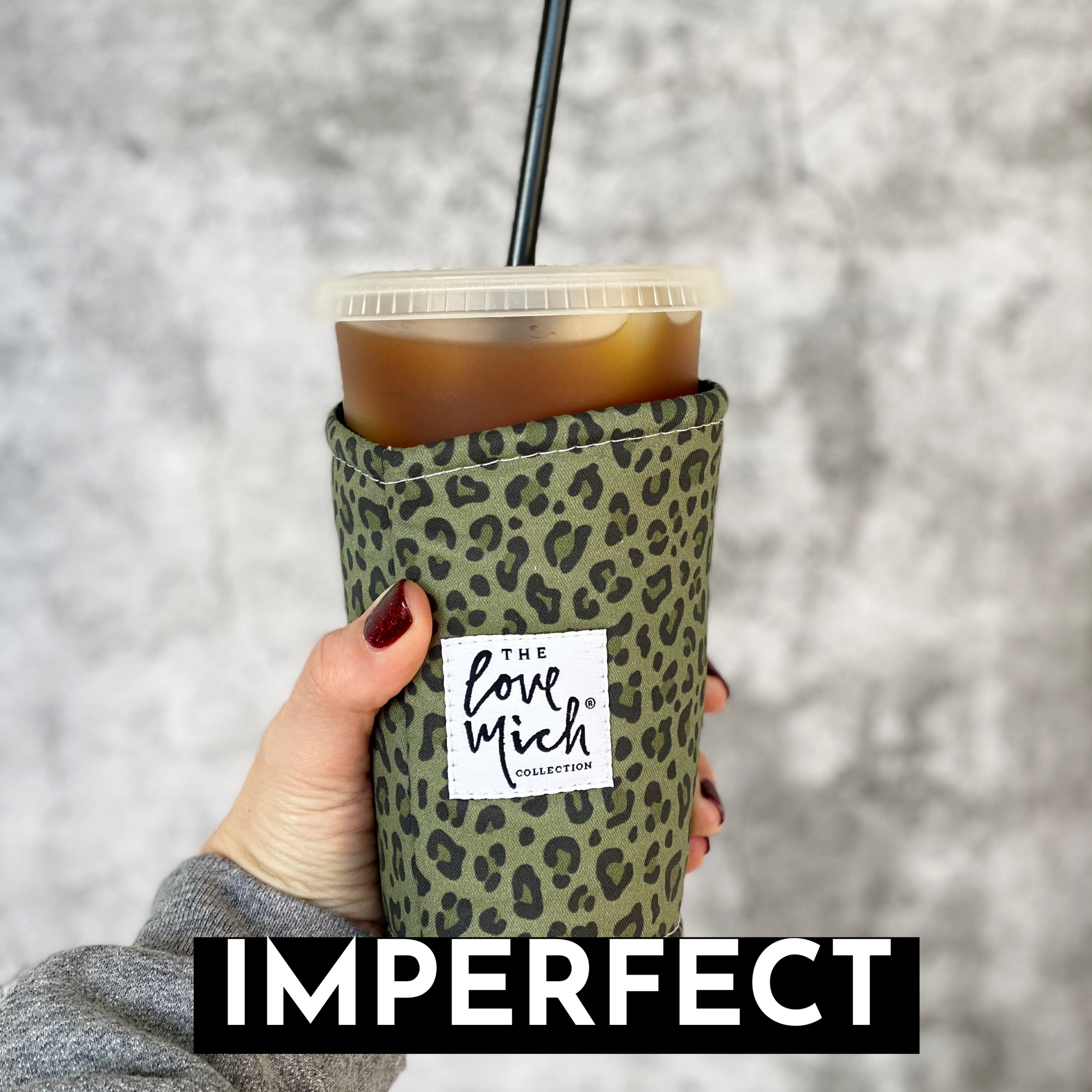 IMPERFECT - As seen on TV - Camo Leopard - Coffee Cozy