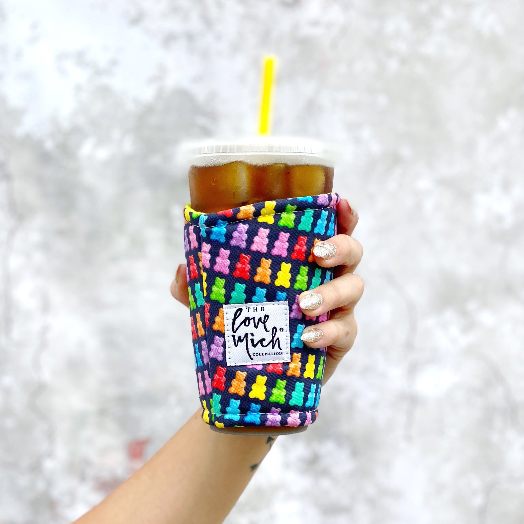 Gummy Bears w/ BLUE lining - Coffee Cozy