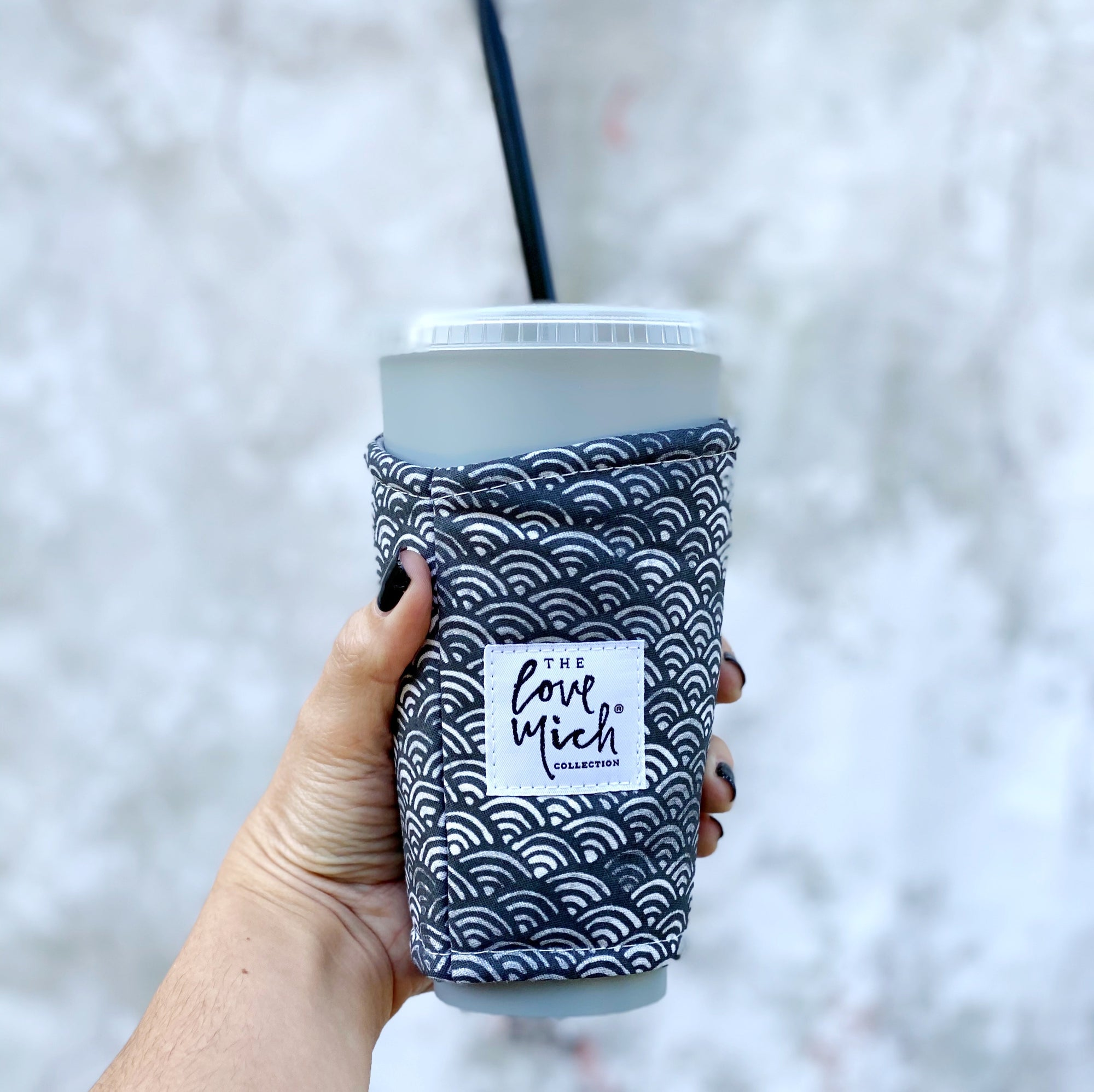 Ocean Waves - Coffee Cozy