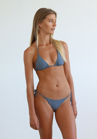 String top - Smoke grey