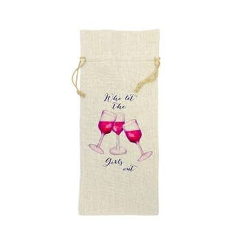 Girls Out Wine Bag