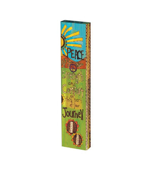Peaceful Journey Mini Art Pole