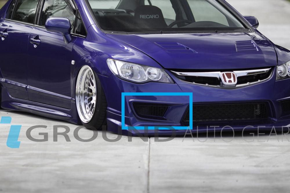 OB 06-11 CIVIC CSX 4DR | JDM TYPE-R FOG LIGHT GUARDS