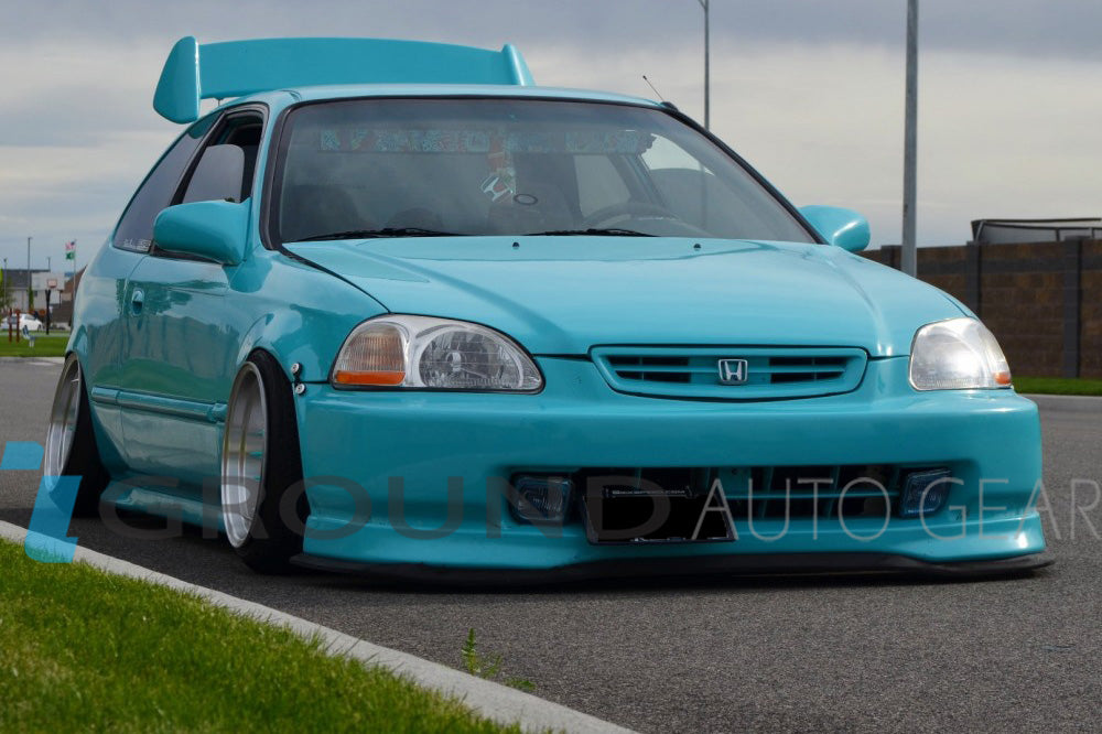 OB 96-98 CIVIC 2/3/4DR | TYPE-R FRONT LIP