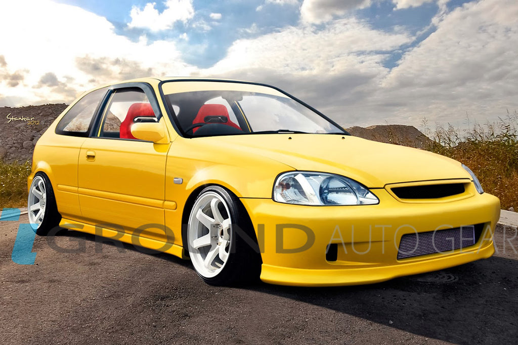 OB 99-00 CIVIC 2/3/4DR | TYPE-R FRONT LIP