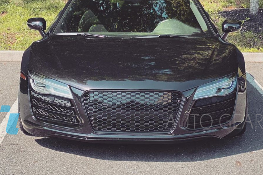 13-15 AUDI R8 | FRONT HONEYCOMB GRILL