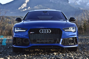 16-18 A7 S7 B9 | RS7 STYLE FRONT HONEYCOMB GRILL