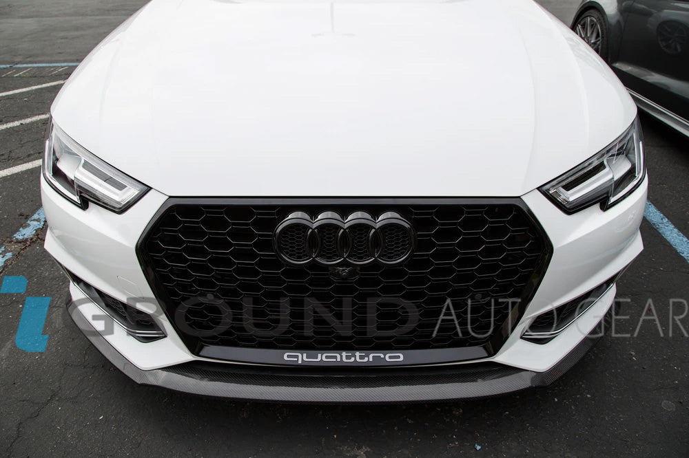 18-20 Q5 | SQ5 STYLE FRONT HONEYCOMB GRILL + FOG LIGHT COVERS
